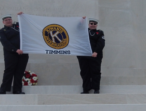 Timmins Sea Cadets travel to Vimy Ridge!
