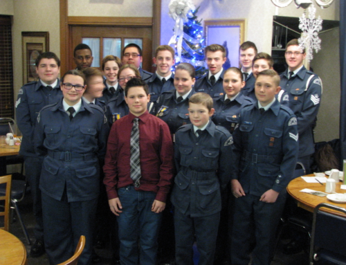Timmins Kiwanis 10 Squadron Air Cadets' Christmas Dinner